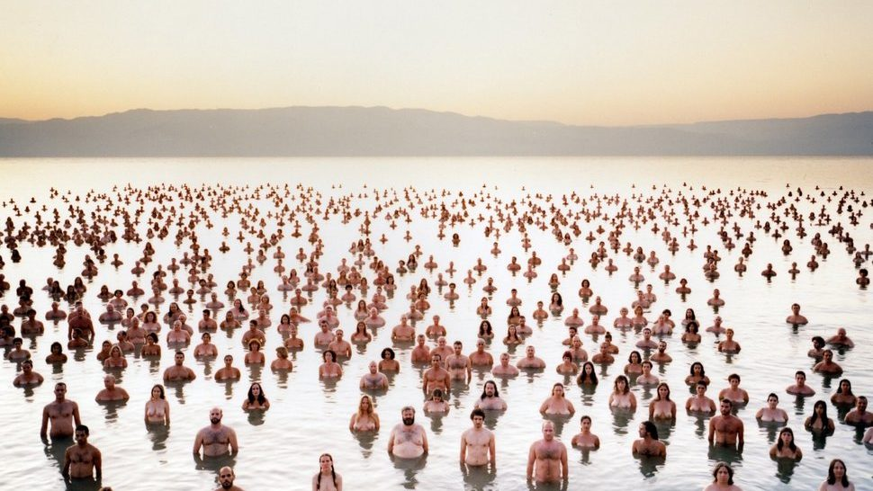 Nudity to save the Dead Sea